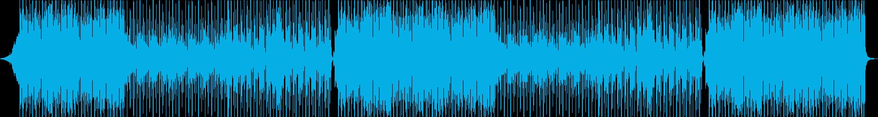 切な系J-POPミッドバラードトラックの再生済みの波形