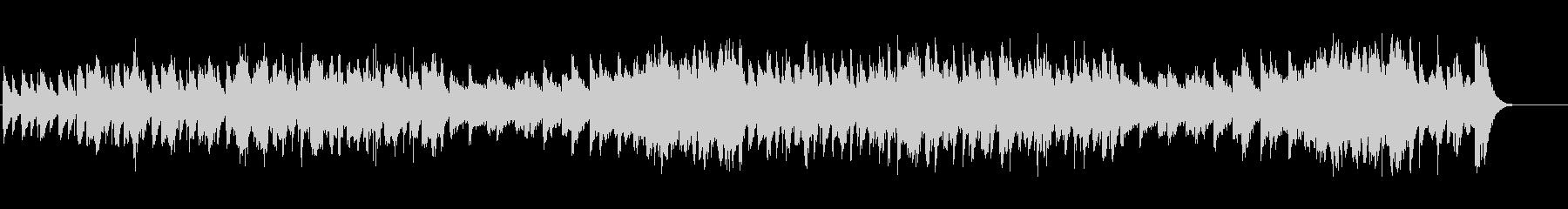 ティンホイッスルとバグパイプの軽快な曲の未再生の波形