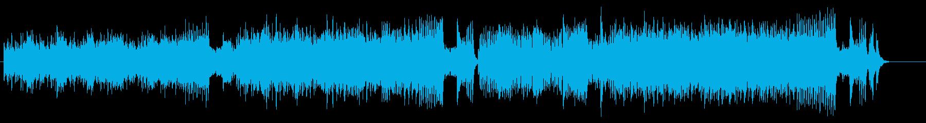 キャッチなメリーゴーラウンド風クラシックの再生済みの波形