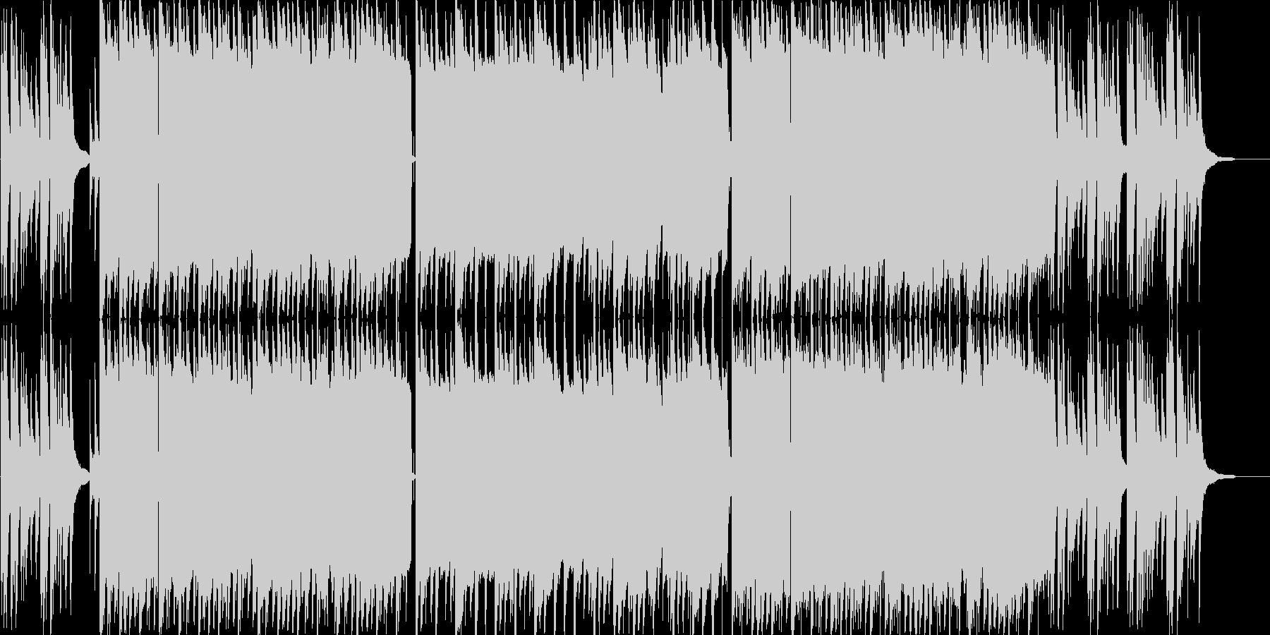 ゆったアジア感のあるピアノのバラードの未再生の波形