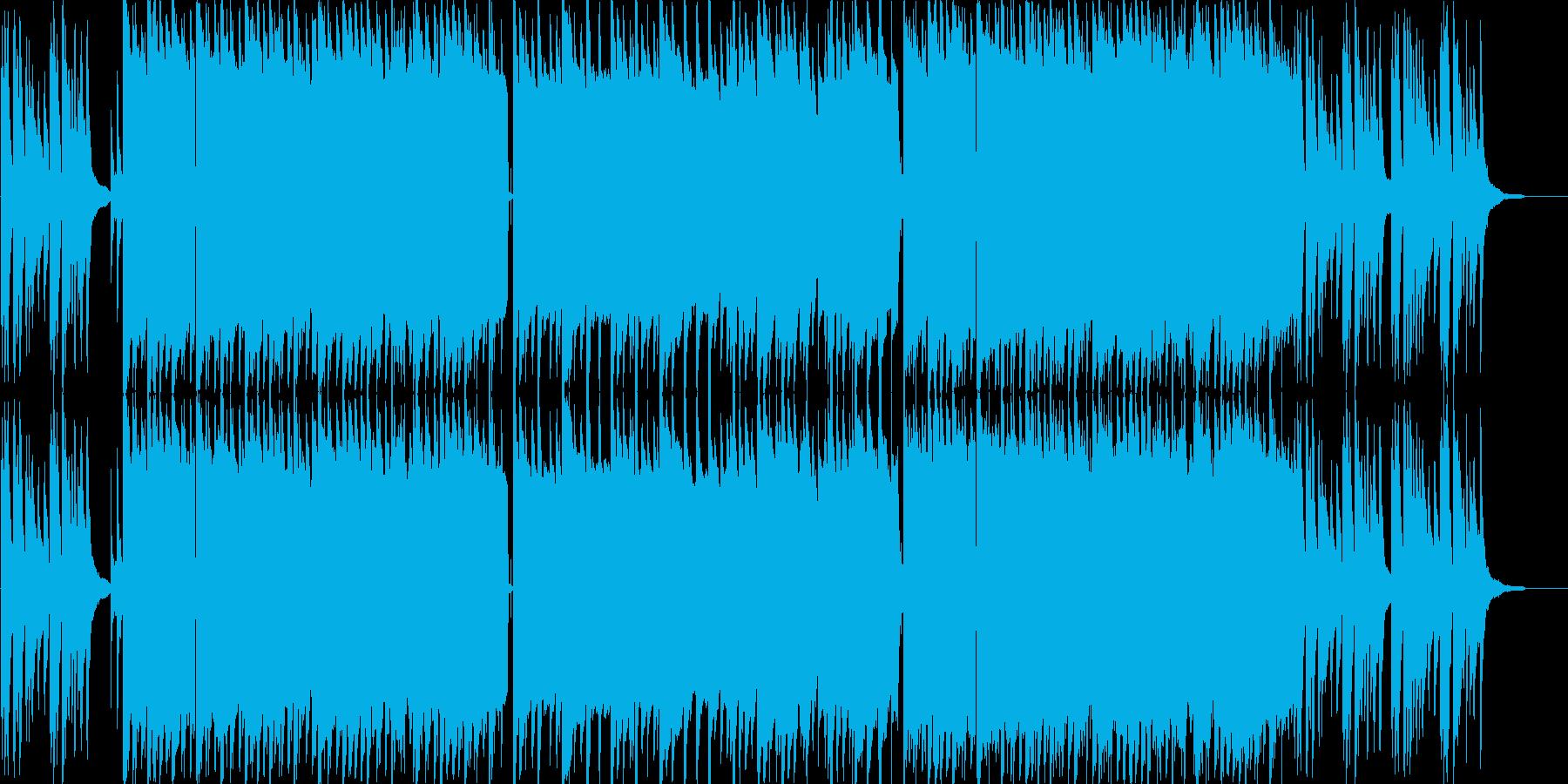 ゆったアジア感のあるピアノのバラードの再生済みの波形