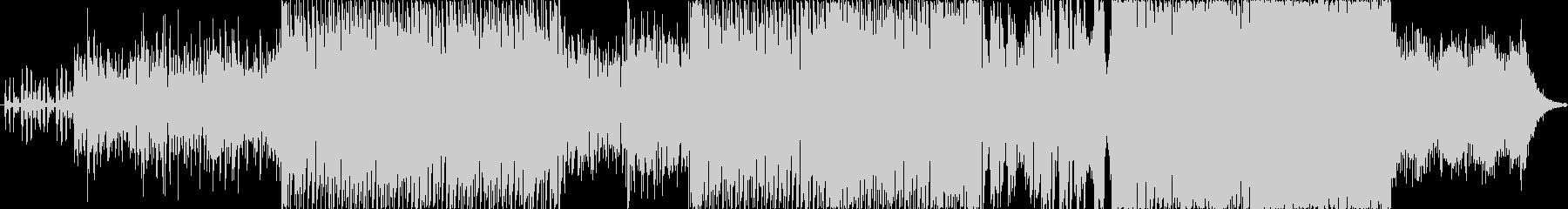 ハウスベースのEDM おしゃれな雰囲気の未再生の波形