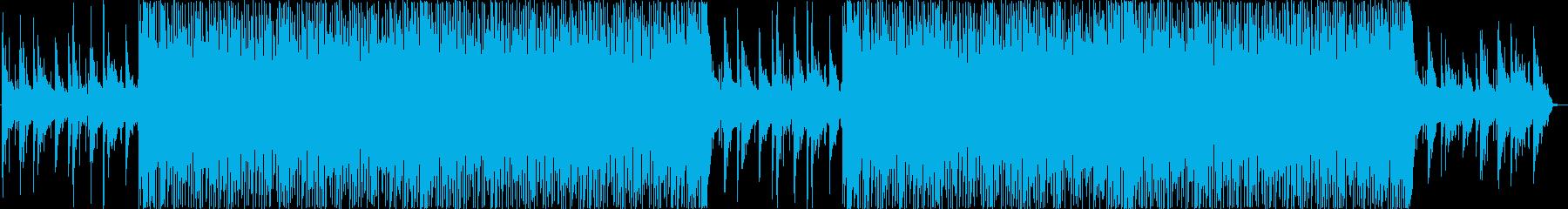 明るくリズミカルなポップ系BGMの再生済みの波形
