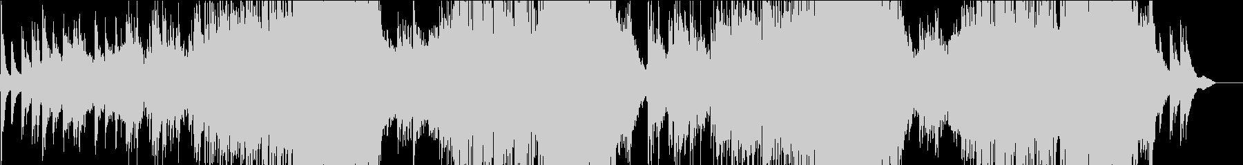 琴で奏でるFuture Popの未再生の波形