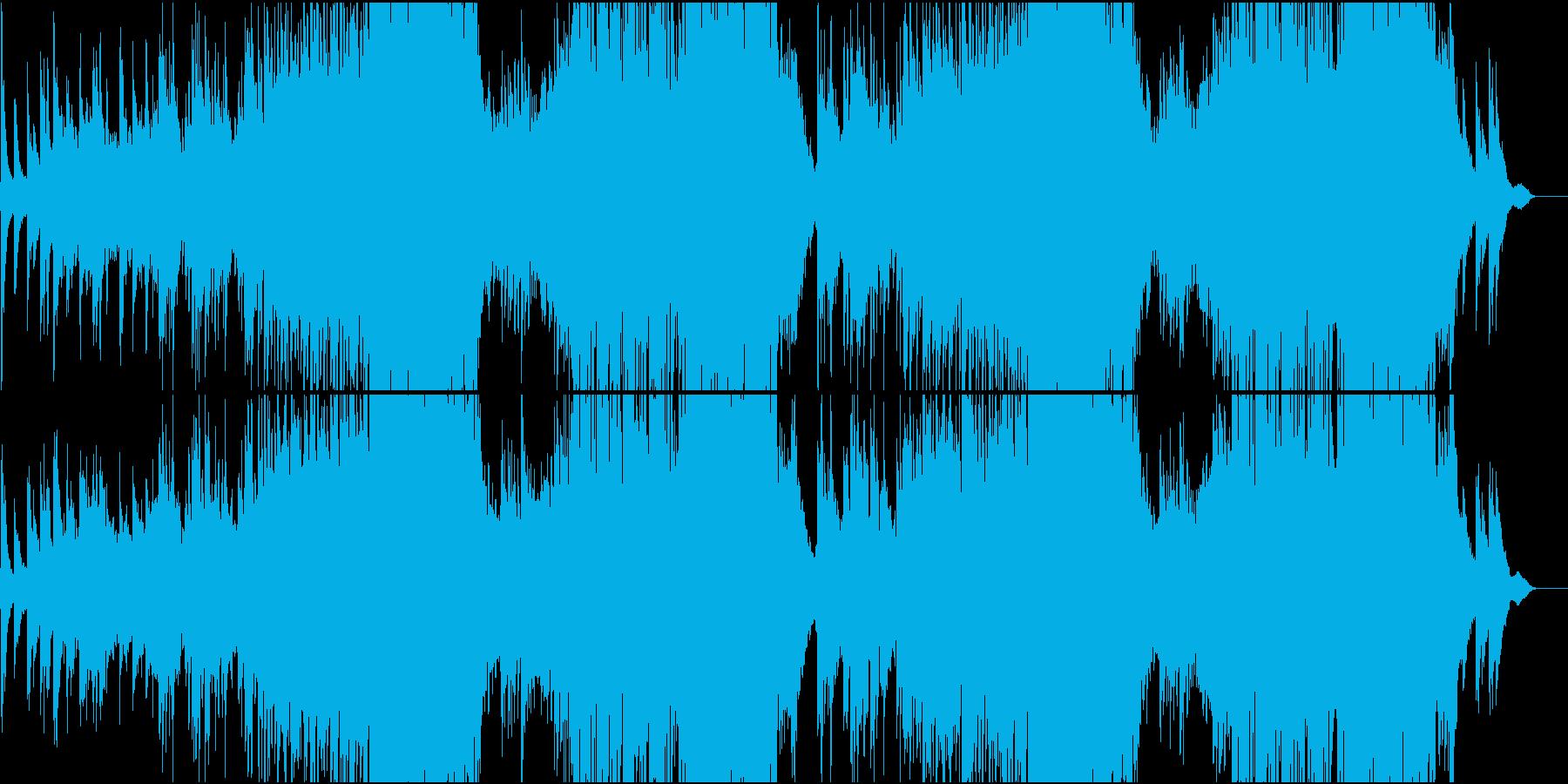 琴で奏でるFuture Popの再生済みの波形