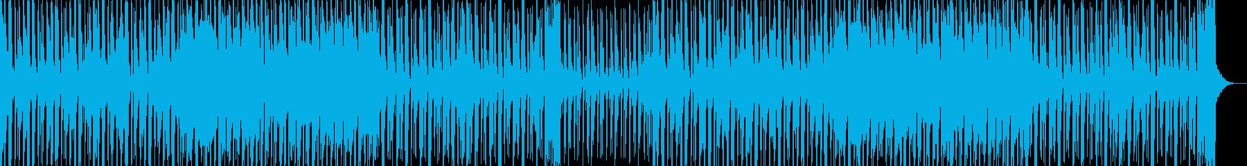 アコースティックギターで男臭いロックの再生済みの波形