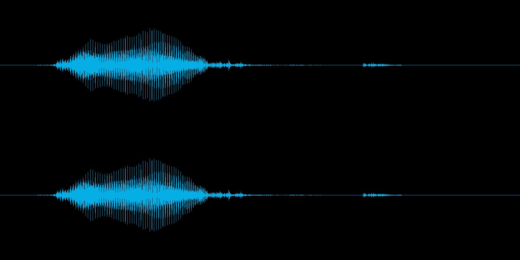 6/ろく - 4~5歳 女の子の再生済みの波形