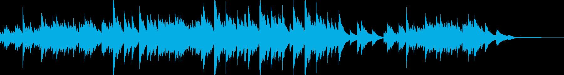 切なさと温かみのある日常系ピアノソロの再生済みの波形