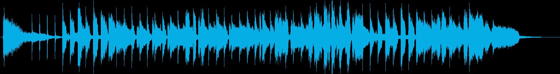 ごぼうをテーマにした楽曲の再生済みの波形