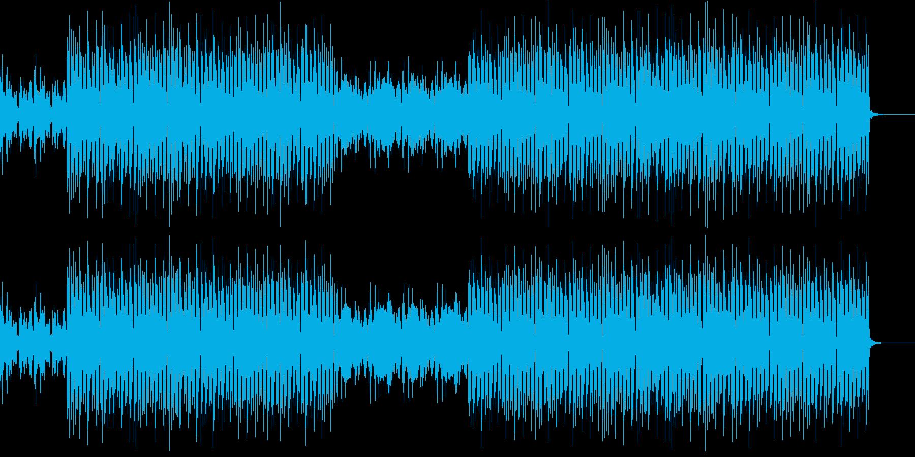 おしゃれ・エスニック・EDM・透明感5の再生済みの波形