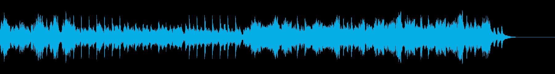 「疾走感」企業VP映像用オーケストラ爽快の再生済みの波形