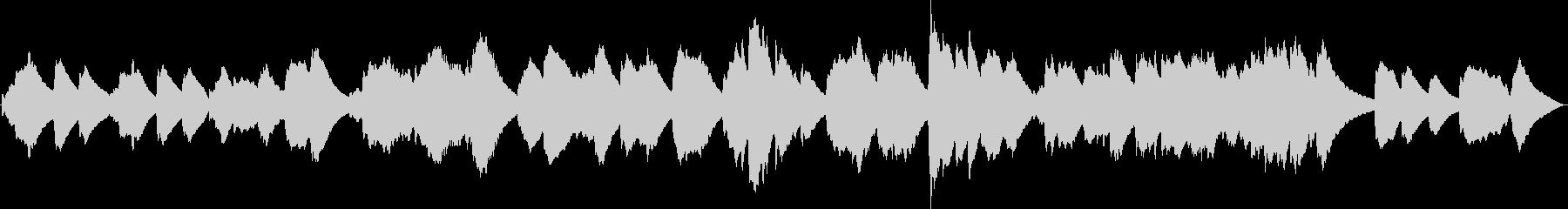 眠れない夜にソルフェジオ癒しのチェレスタの未再生の波形