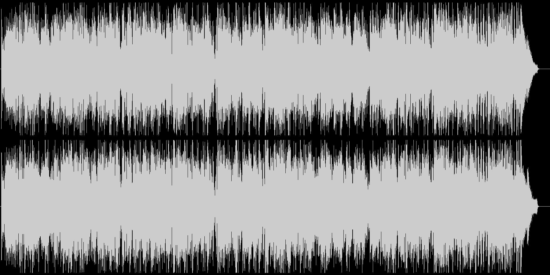 ジャズ 早めのスイング ソプラノsax版の未再生の波形