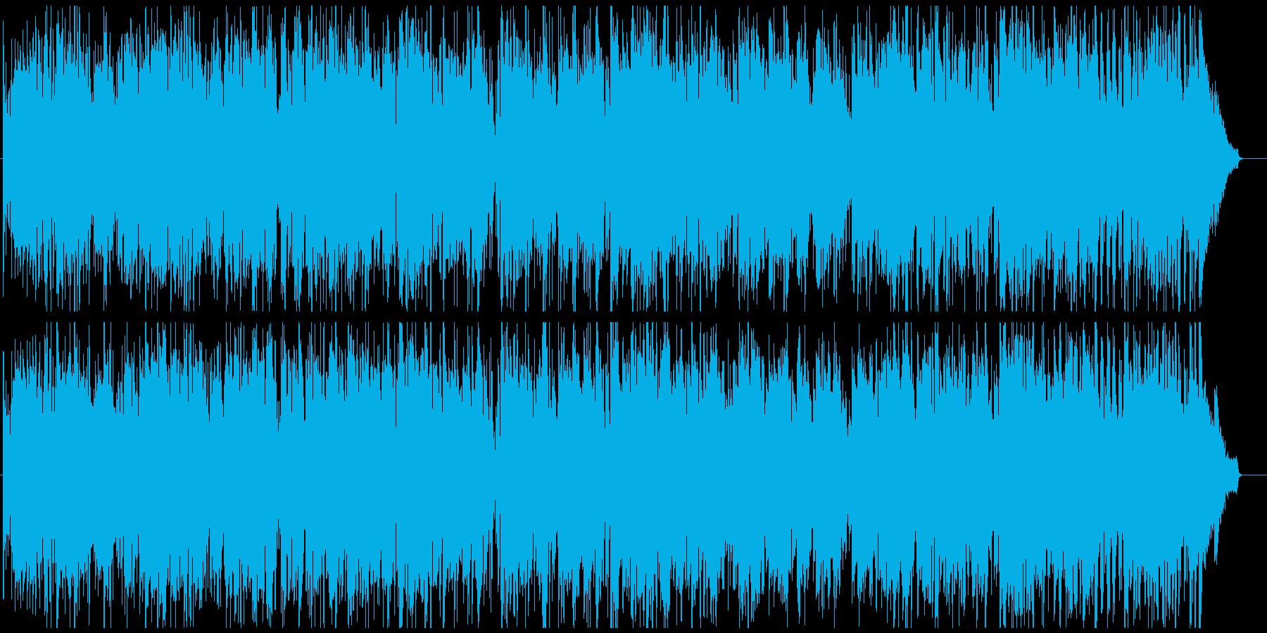 ジャズ 早めのスイング ソプラノsax版の再生済みの波形