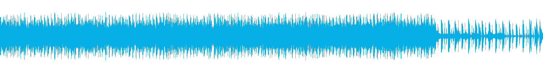 アコギナチュラルテイストループの再生済みの波形
