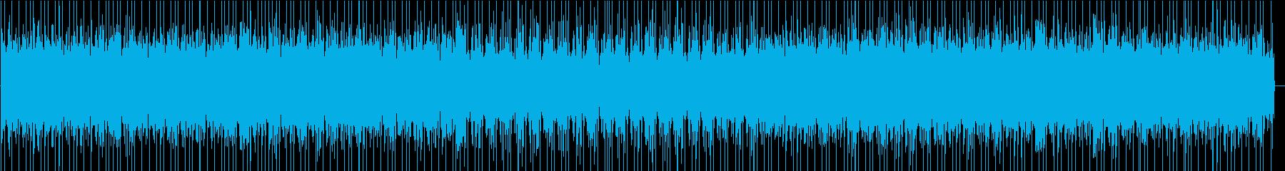 犯人を追跡している時のBGMの再生済みの波形
