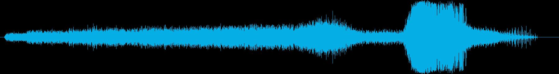 ステアマン:タクシー/スロットル/...の再生済みの波形