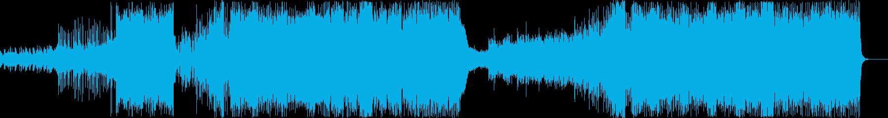 和風をイメージしたのんびりEDMの再生済みの波形
