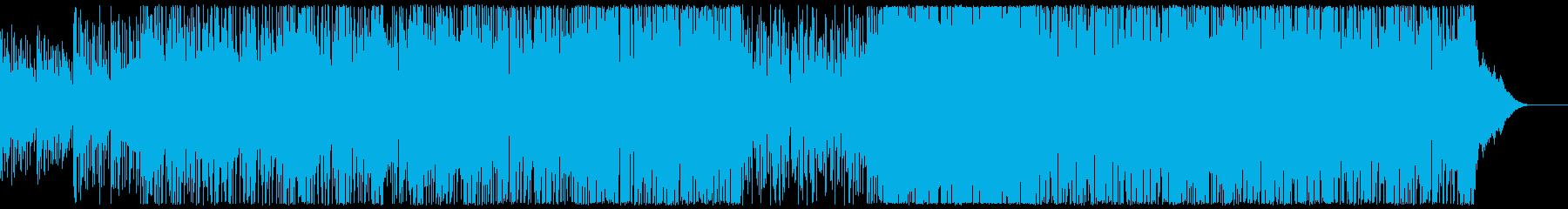 ファンキーなテクノポップ。の再生済みの波形