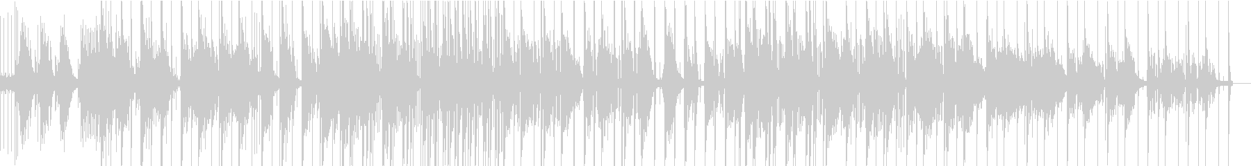 ガーリーでお洒落なLo-Fi チルの未再生の波形