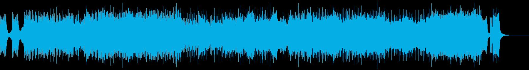 16bit,48kHzバージョンです。の再生済みの波形