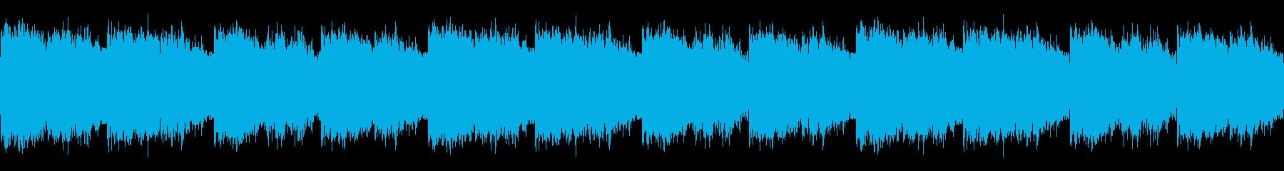 南の島にある豊かな森のイメージの再生済みの波形