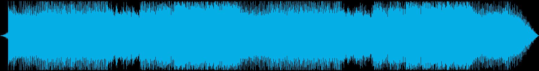 EDM盛り上がる曲・エモいメロディの再生済みの波形