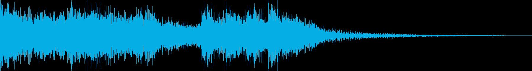 豪快なブラス!(3秒)の再生済みの波形