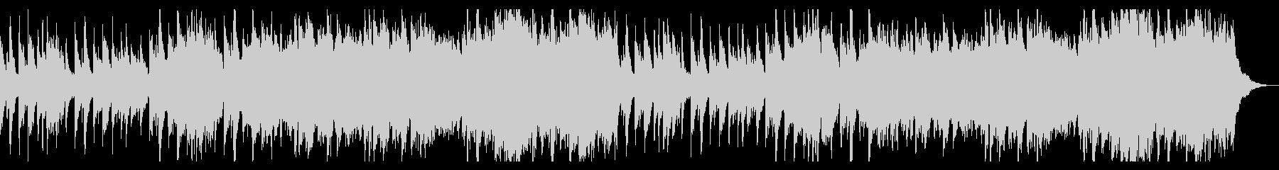 ハープが印象的なシャボン玉のような曲の未再生の波形