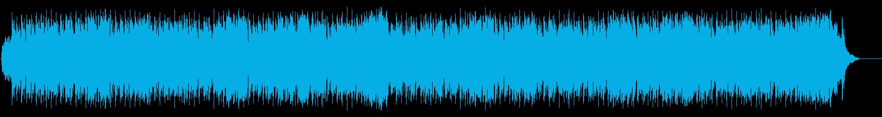 優しいアコースティック(フルサイズ)の再生済みの波形