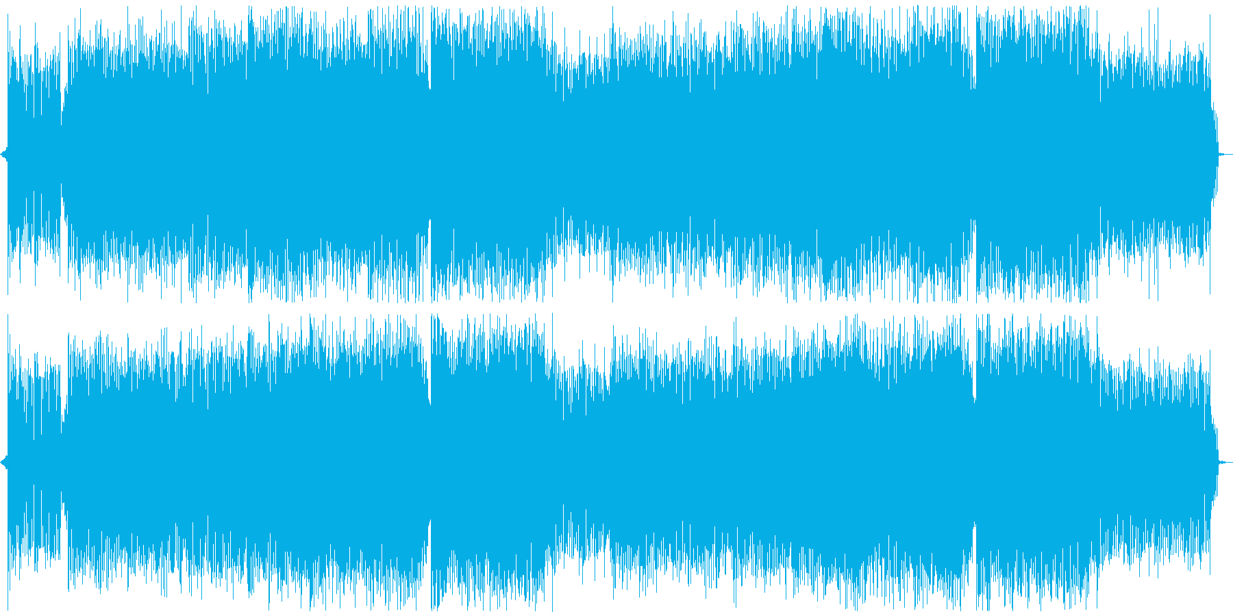 Vivid Electro Dance with Female vocal 's reproduced waveform