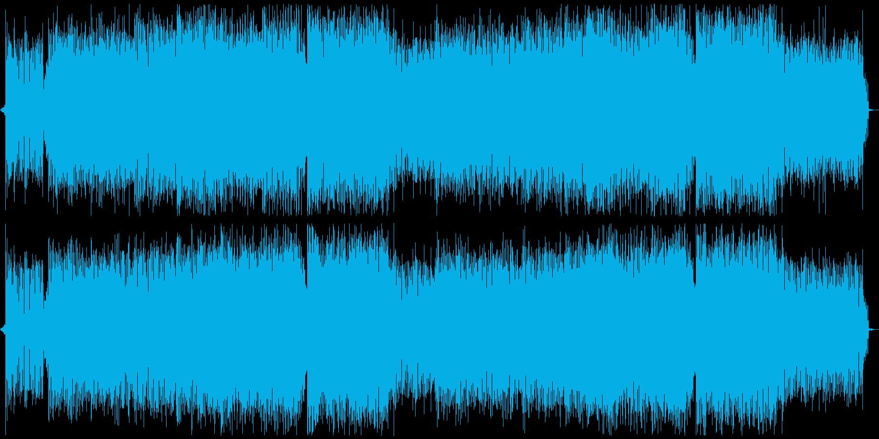 女性ボーカル・明るいエレクトロ系ダンスの再生済みの波形