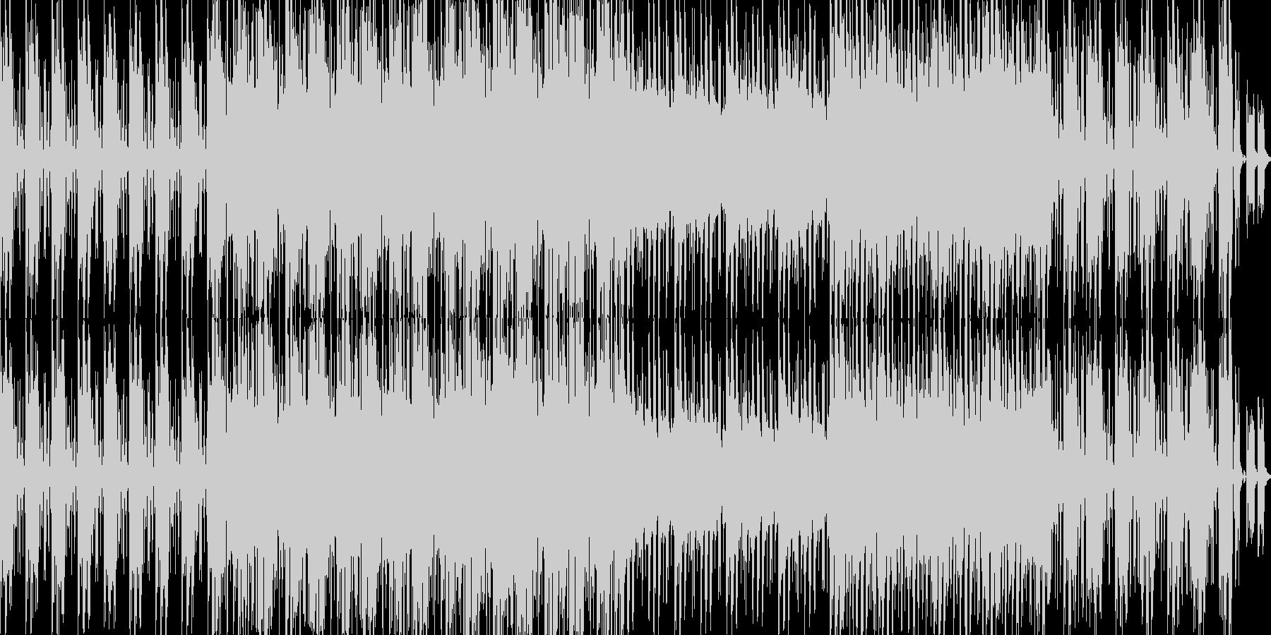 電子。 80年代。の未再生の波形