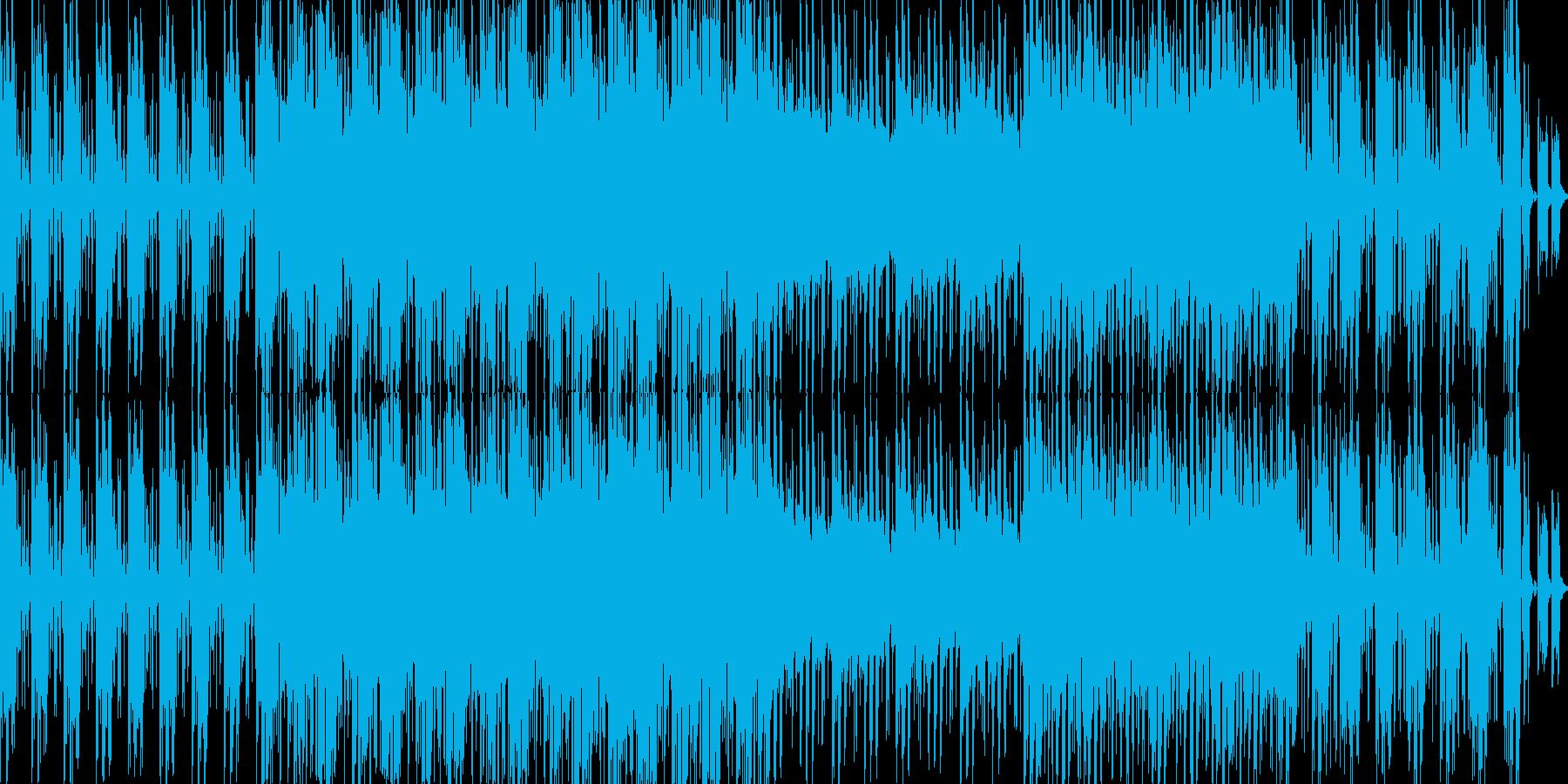 電子。 80年代。の再生済みの波形