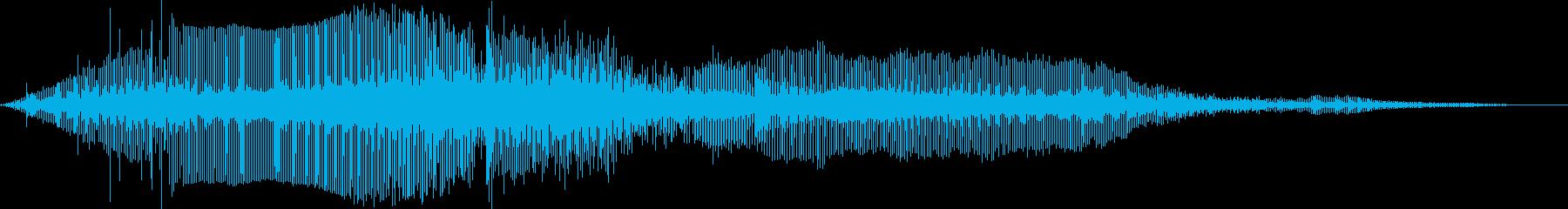 ミニバイクレースの再生済みの波形