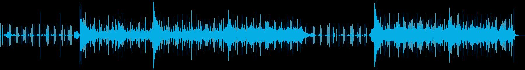 かわいいポップな鉄琴のオーケストラの再生済みの波形