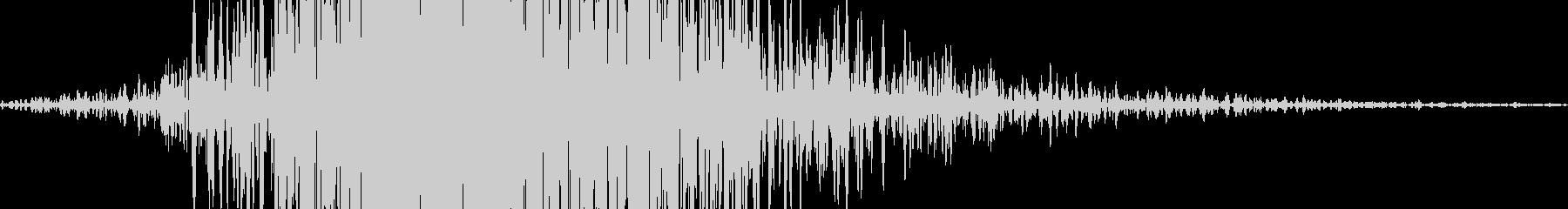 風切り音 スイング音  (低め)_05の未再生の波形