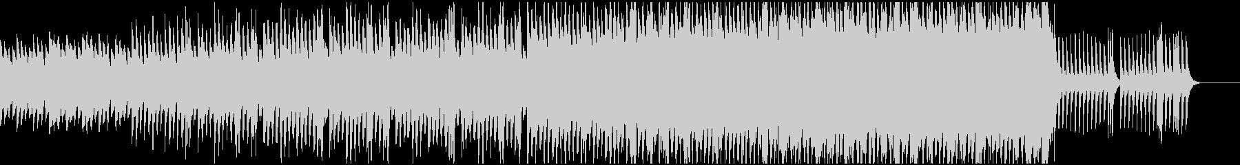入場をイメージした和曲の未再生の波形