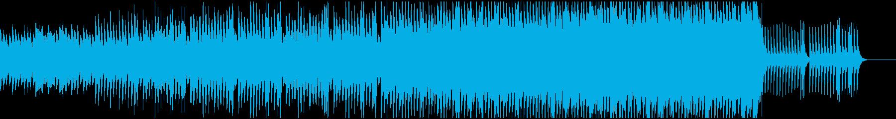 入場をイメージした和曲の再生済みの波形