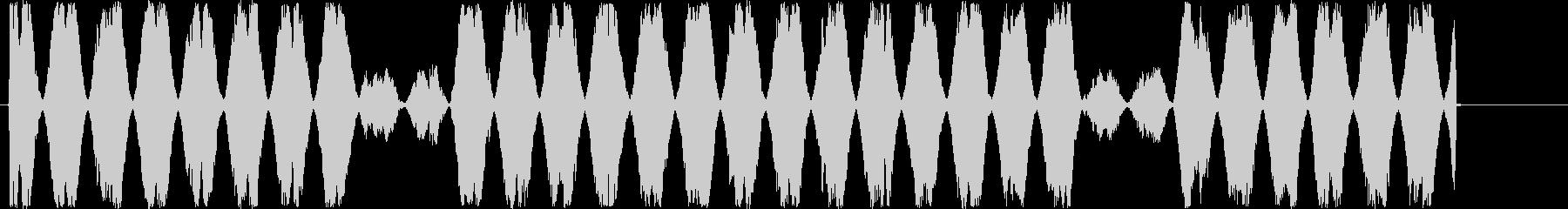 【可愛い効果音/ぴよぴよ】の未再生の波形