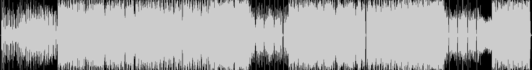サイケデリックEDMロックの未再生の波形
