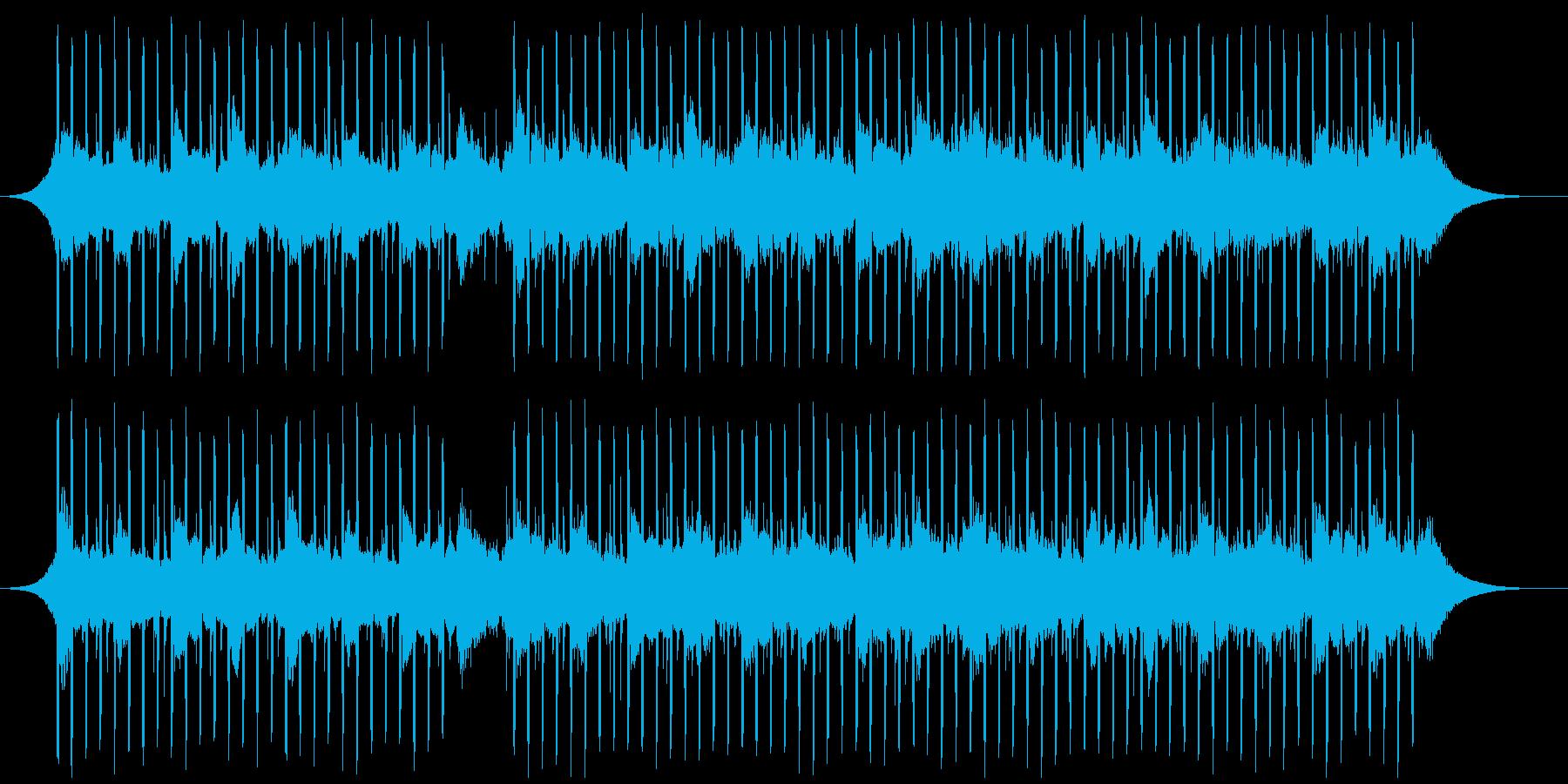 ヘルスケア(60秒)の再生済みの波形