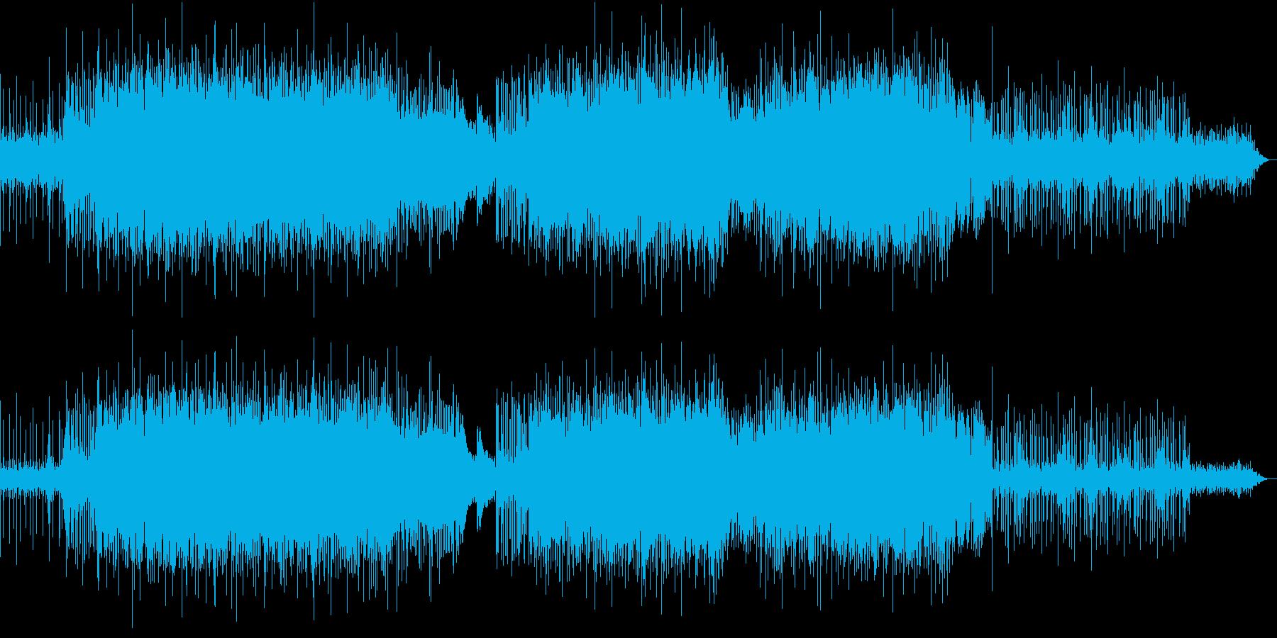 ピアノとたて笛!キラキラと明るいのどかなの再生済みの波形
