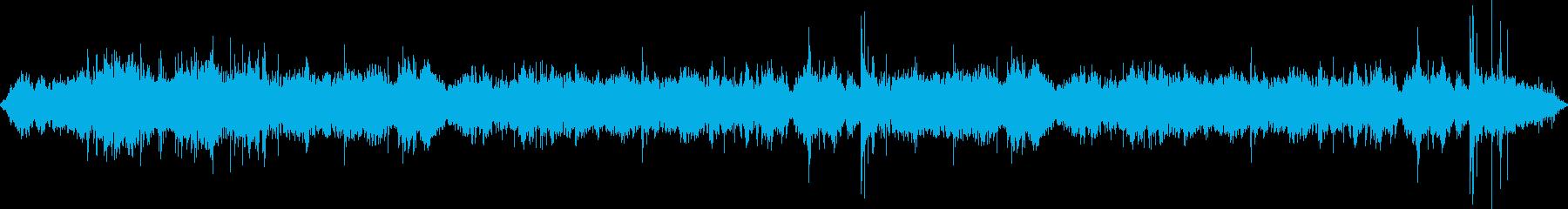 中屋内の混雑:講堂または講堂:重い...の再生済みの波形
