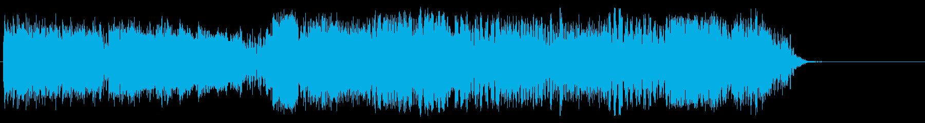 TELE COMMの再生済みの波形