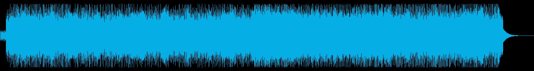 90年代懐かしバンド風ロック(メロ無し)の再生済みの波形