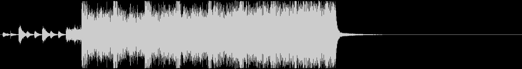 生演奏メタルなアイキャッチ15/焦りの未再生の波形