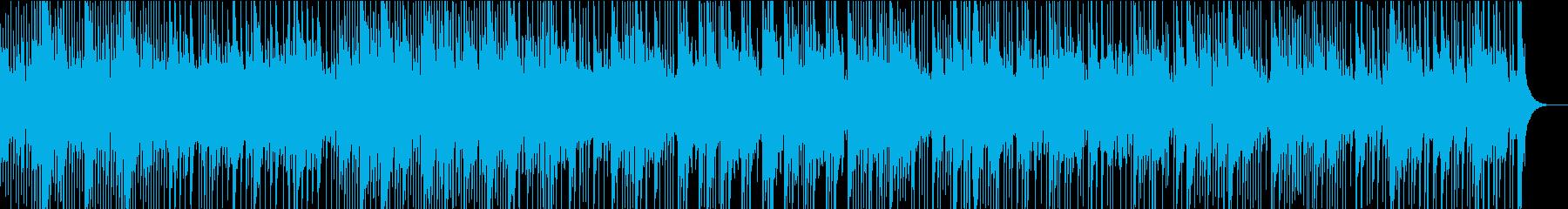 南国の番組にぴったりなカリンバの民族音楽の再生済みの波形