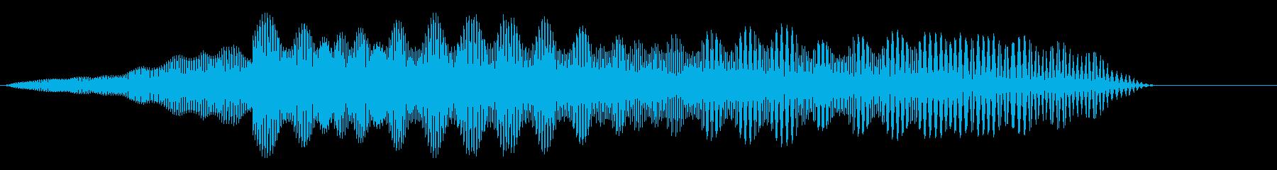 ピュウ(レーザー光線/SNES/レトロの再生済みの波形