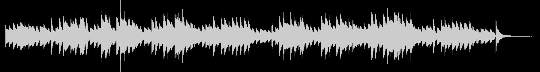 English folk song simple piano accompaniment's unreproduced waveform